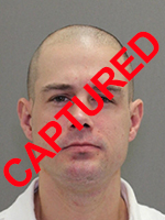 Photo of apprehended escapee Aaron Ray Williams