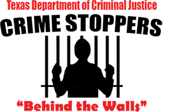 "Logo for Crime Stoppers ""Behind the Walls"""