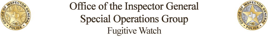 OIG Fugitive Watch