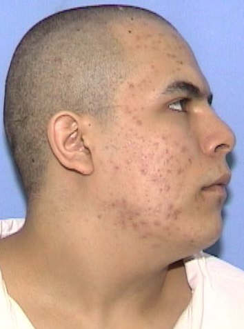 Photo of escapee Jose Fernando Bustos-Diaz