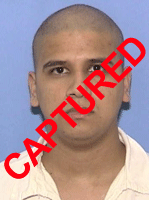 Photo of apprehended escapee Octavio Ramos Lopez