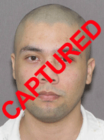 Photo of apprehended escapee Tony Steven Requeno